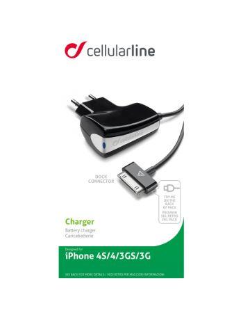 Сетевое зарядное устройство для Apple Cellular Line Apple 30-pin